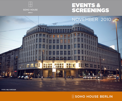 SOHO HOUSE Berlin Cover