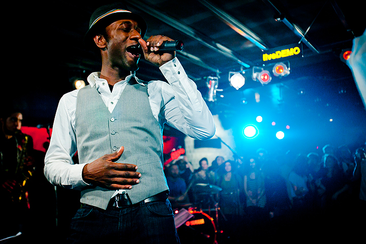 Aloe Blacc - live at Asphalt Klub Berlin © Nils Krüger