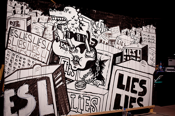 my first Video-Shots at Street Lab Vernissage & Urban Art Circus