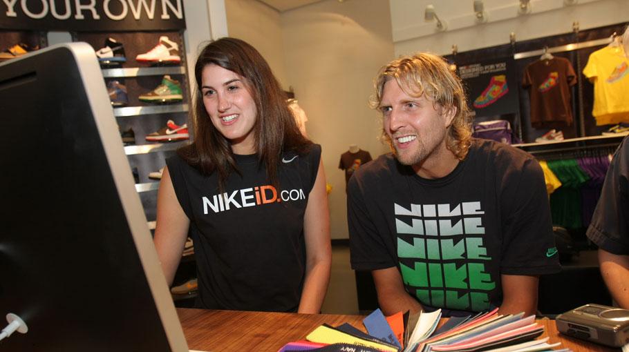 Dirk Nowitzki for Nike
