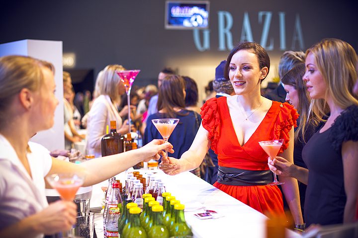 Grazia Event at Mercedes-Benz Fashion Week (05.07.2011)