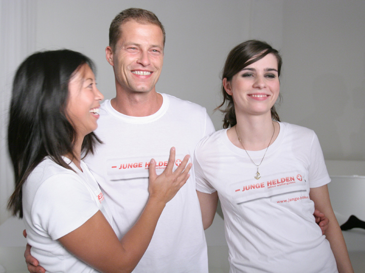 Junge Helden – Til Schweiger, Nora Tschirner, Mareile Höppner uvw. im Bangaluu (10.10.2006)