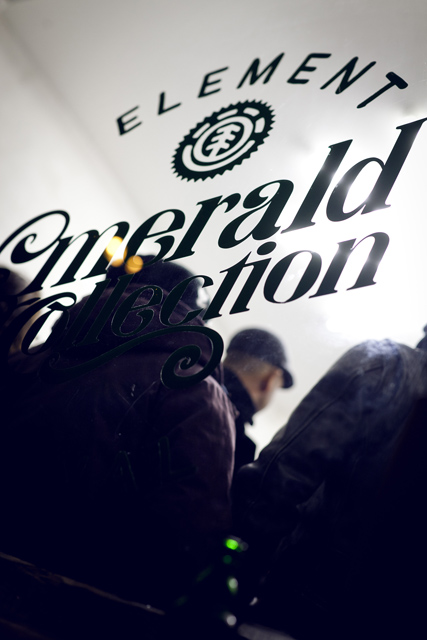 Element Emerald Collection Launch at SOTO Berlin 19.01.2012