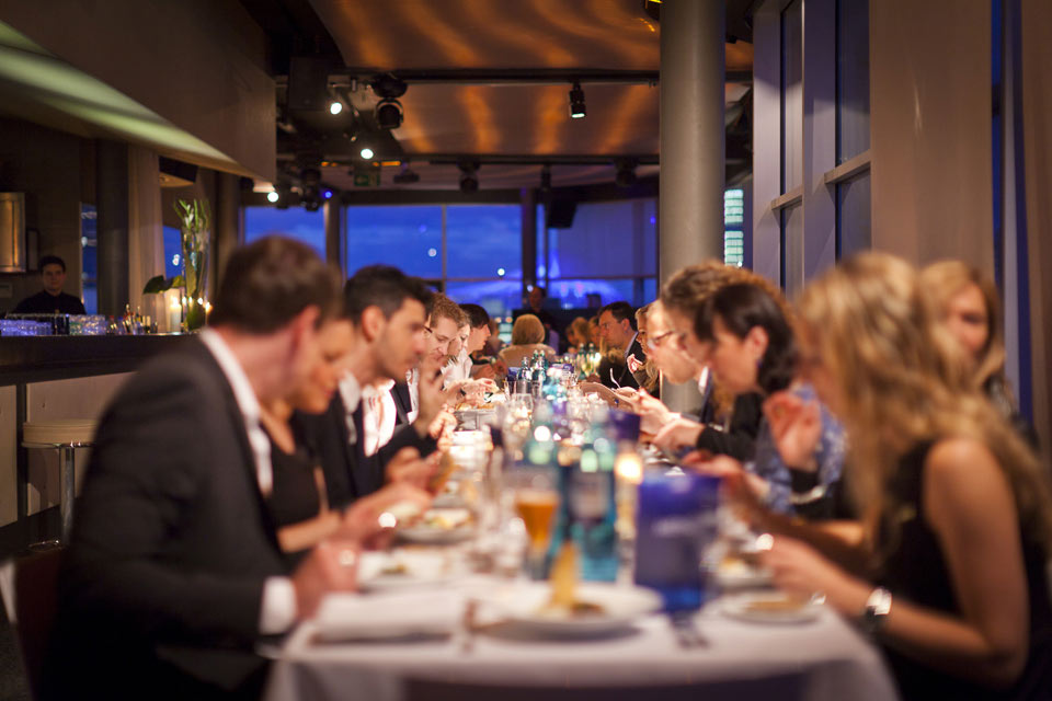Dinner Event im 40seconds für den Kunden Biotherm