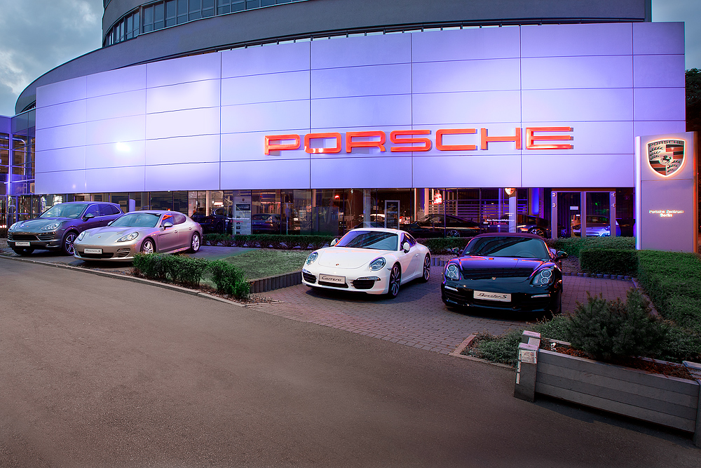 Locationfotos: Porsche Zentrum Berlin