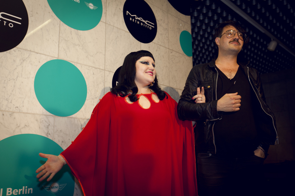 Beth Ditto at MADE for MAC Cosmetics (12.06.2012)
