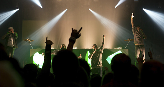 Beck's Live Special im E-Werk (17.11.2012)