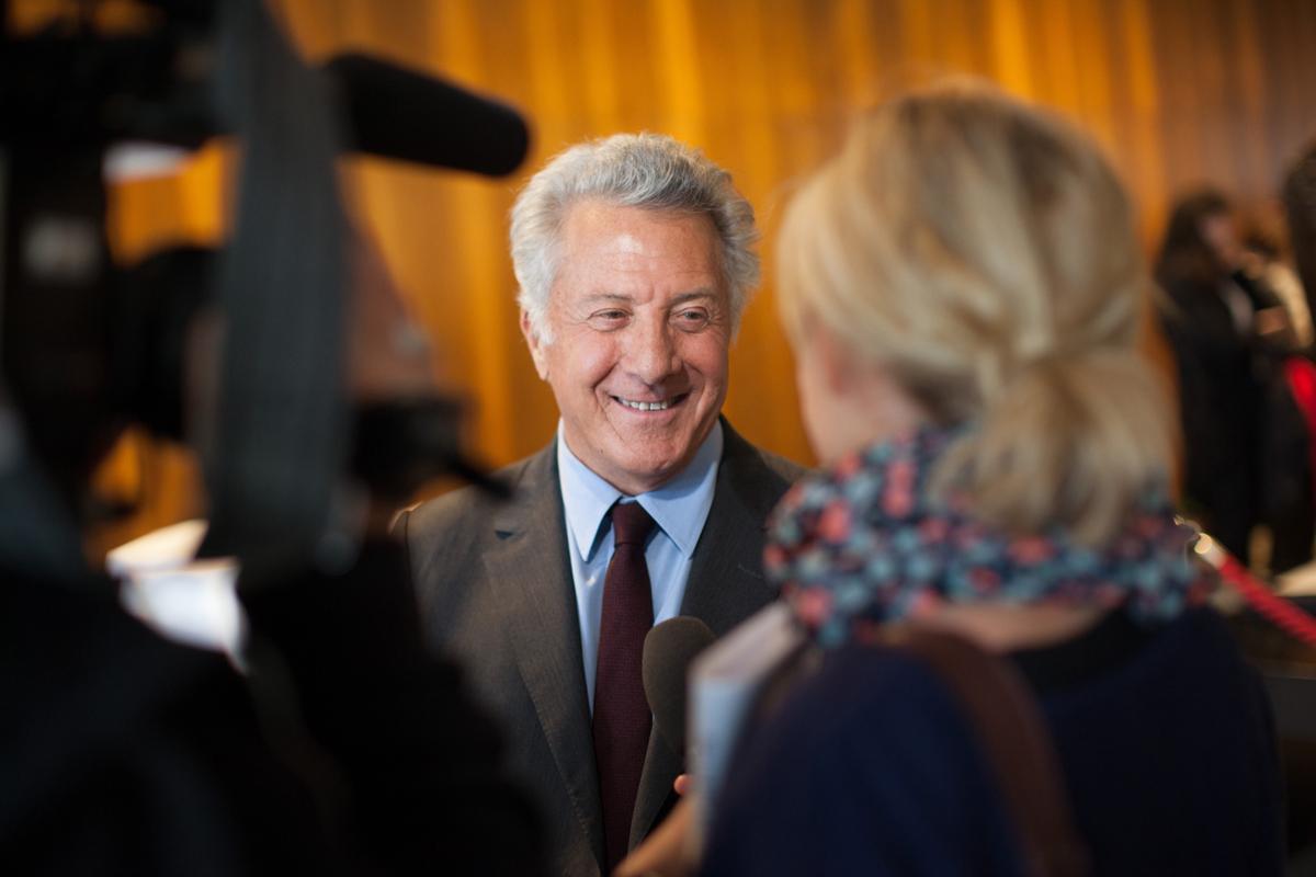 """Dustin Hoffman gibt Regiedebüt """"Quartett"""" – Premiere in Berlin"""